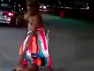 Girl Beating Up Guys Fully Naked