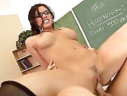 Smoking Hot Teacher Likes To Fuck Her Student In The Classroom,