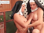 Sexy Catholic Nuns Enjoying Lesbian Adventure