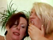 Two Hot Horny Mature Women Eat Each Other's Shaved Cunts