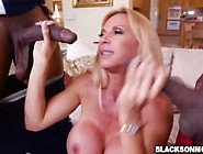 Horny Cougar Brooke Tyler Got Fucked On A Couch