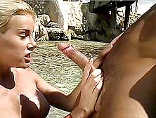 Big tits slow mo