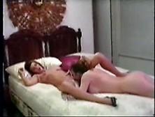 Hot Vintage Lesbians Having Sex On The Bed