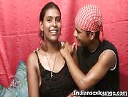Cute Indian Girl Dances And Strips