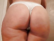 Nice Milf Tits And Juicy Ass In A Tight Thong