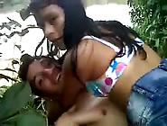Coimbatore Teen Couple Enjoy Outdoor Sex In Forest