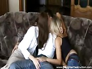 Tiny Teen Hardcore Fucking In A Nice Threesome