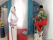 Black Guy Fucks Busty White Granny Deep And Hard