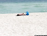 Some Horny Old Perverts Pick Up Hot Latin Teen On A Beach And Fu