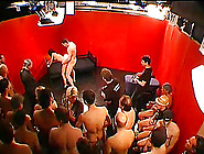 Lusty Gangbang Party With Lots Of Guys To Cum On Naughty Sluts
