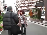 Japanese Milf Fucked By Old Man