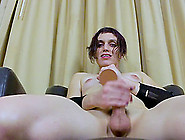Lillian Night Is A Horny Tranny That Loves To Jerk Her Big Dick