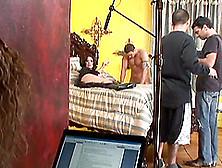 Fantastic Backstage Video Of Hot Brunette Getting Fucked