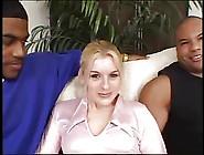 Black Mans Spunk White Girls Pussy !