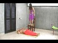 Training For Fakir Performance (Hard Trampling Jumping)