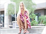 Staci,  A Pretty Blonde That Gets Naked In Public Places For Your