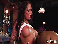 Kristen Open Her Legs To Get Ram By A Big Cock