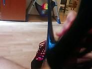 Heels Black Shoes,  Of Not My Sister Shoesjob Footjob Cum In