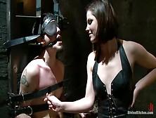 Fine-Looking Bobbi Starr Is Fucking In Bdsm Porn