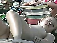 Exquisite Random Girls On The Nudist Beach Sunbathing