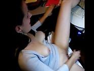 Shy Girl Masturbates On The Webcam For A Stranger