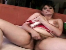Mature Hairy Woman Loves Solo