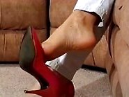 Sex Movie Red Heels Dangling
