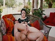 Sweet Sinner Yhivi Rides Cock In Her Maid Uniform