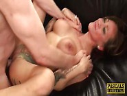 Busty Tattooed Milf Betty Foxxx Gets Her Face And Pussy Fucked R