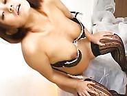 Pregnant Nymph Misuzu Kousaka Riding Toys In Lingerie