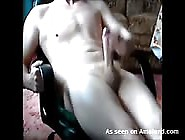 Anonymous German Twink Jerking Off And Cumming On Webcam