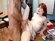Nude hari redhead