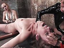 Redhead Has A Fun Time As She Reaches An Orgasm In Femdom Clip