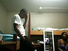 Black Couple Fuckes And Recordes In A Dorm Room