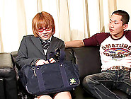 Cock And Ball Sucking Asian Tranny Fucked By Her Man