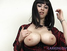 Larkin Love Satisfying-My-Sons-Overdeveloped-Cock. Mp4