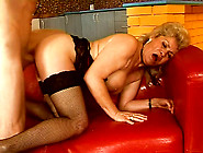 Mature Granny With Hairy Pussy Gets Fat Facial Cumshot After Har