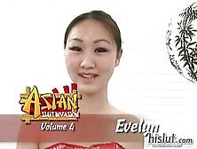 Evelyn Lin Gets Facial