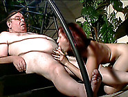 Fat White Old Jerk Loved To Receive A Nice And Intense Bj From Y