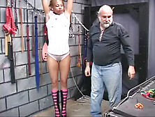 Black Slave Punnished In Masters Dungeon