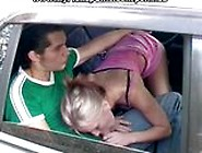 Hot Euro Blond Takes A Good Fuck Outdoors