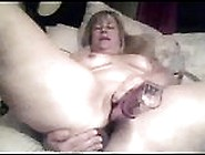 Solo Mature Dildoing Hot Twat