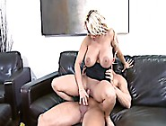 Blonde Thick Titted Mommy Gets Shagged