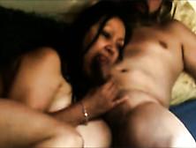 Black Mature Mom Sucking Massive Dong Balls Deep