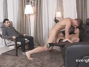 Broke Guy Allows Hot Friend To Ride His Ex-Girlfriend For Hard C