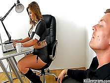 Yuffie Yulan An Office Interview Hd