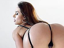 Beautiful Lingerie-Clad Porn Star Enjoying A Hardcore Anal Fuck