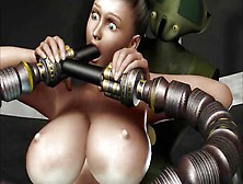 Robots Sex Attak @ Sci-Fi 3D Animation From Crazyxxx3Dworld.  Com