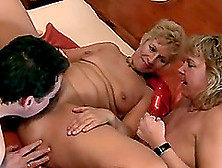 Hardcore Action With Short-Haired Busty Blonde Milf