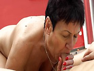 Mature Lady Seduces Handsome Youngster For Entertainments